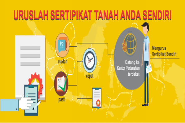 PTSL permudah masyarakat miliki sertifikat tanah