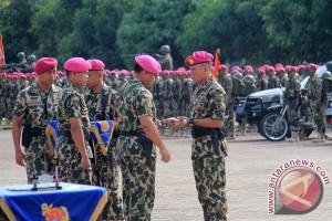 Dankomar Kukuhkan Komandan Brigif-3 Marinir Piabung
