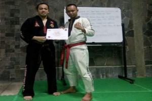 Dua Petarung Lampung Raih Sertifikat Pelatih Nasional