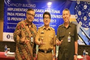 Pemprov Lampung Implementasikan Transaksi Nontunai