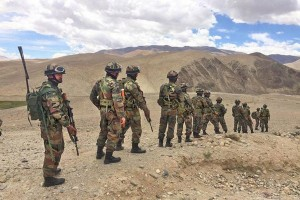 China : India bangun kekuatan militer di perbatasan