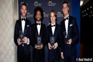 Real Madrid dominasi kandidat pemain terbaik liga champions