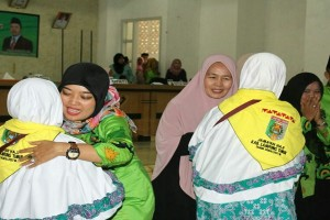 Calon Haji Lampung Timur 905 Orang Diberangkatkan