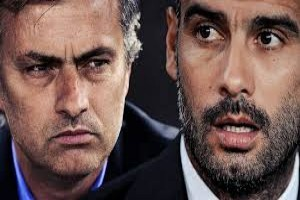 Tekanan besar tertuju pada Guardiola dan Mourinho