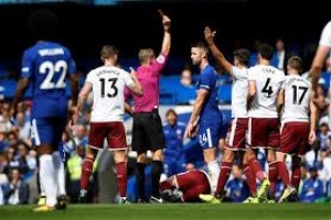 Chelsea keok di kandang 2-3 dari Burnley