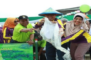 Lampung Timur Gelar Festival Dayung di Sungai
