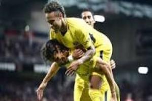 Neymar bersinar saat lakukan debut untuk PSG