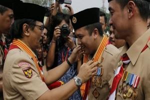 Gubernur Lampung Dapat Penghargaan Pramuka
