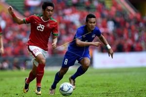Indonesia Lawan Thailand Berakhir Imbang 1-1