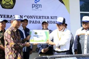 PGN Pasang Ratusan Konverter Kit Gratis