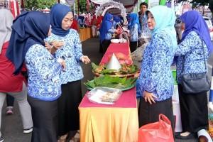 Bandarlampung raih rekor Muri makanan tradisional