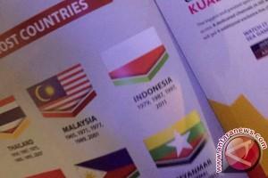 Bendera Indonesia Terbalik di Buku Panduan SEAG