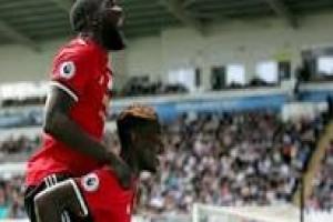 United menang 4-0 atas Swansea
