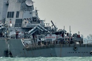 Indonesian navy sends two ships to find missing USS crew