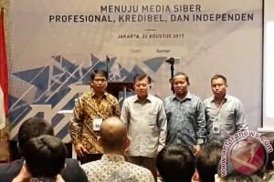 Wapres Buka Kongres Asosiasi Media Siber Indonesia