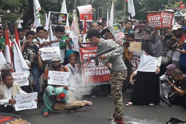 Demo selamatkan Rohingya