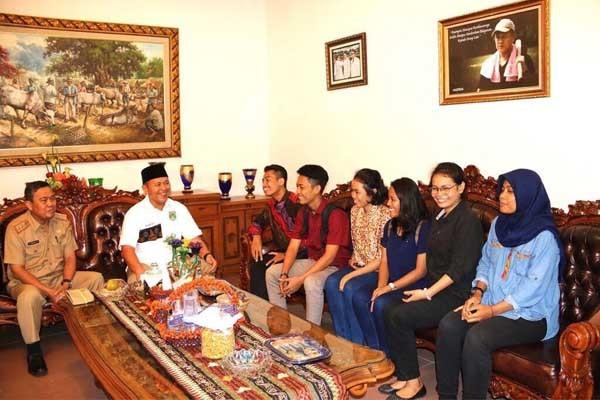 Pelajar Lampung Tengah Kembali Dikirim ke China