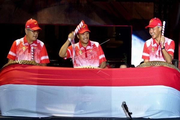 Menpora Buka POPNAS XIV/2017 di Jawa Tengah