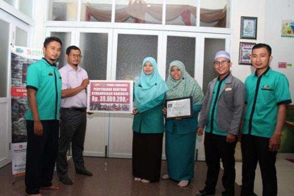 Penggalangan Dana Rohingya dari Lampung