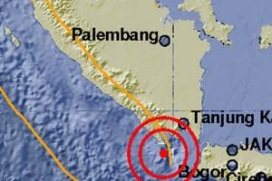 Gempa di Selat Sunda Tak Berpotensi Tsunami