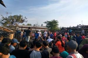 Pasar Sidorejo Lampung Timur Terbakar