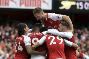Arsenal Menang 3-0 atas Bournemouth