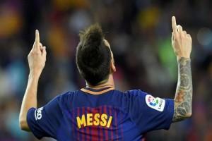 Messi sementara tersubur