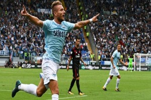 Trigol Immobile Hancurkan Rekor Sempurna Milan
