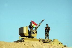 Pasukan Irak dan Kurdi bentrok dekat Kirkuk