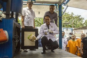 BNN Musnahkan 39,96 Kilogram Sabu Asak Malaysia