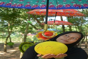 Warga Desa Jadikan Kebun Karet Lokasi Wisata