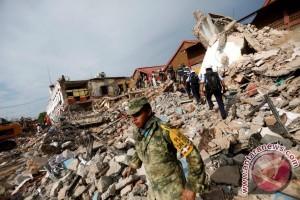 Gempa 7,1 SR Guncang Meksiko, 119 orang tewas
