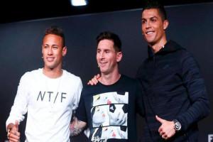 Neymar, Ronaldo dan Messi bersaing sebagai pemain terbaik