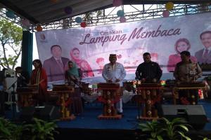Gubernur Canangkan Gerakan Lampung Membaca