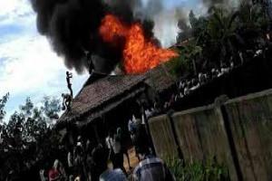 Myanmar akan ambil alih desa terbakar