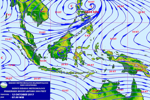 BMKG Prakirakan Lampung Hujan Ringan-Sedang