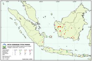 BMKG: Terpantau Titik Panas di Tulangbawang Lampung