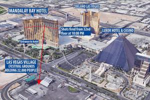 59 tewas dan 200 cedera dalam penembakan di Las Vegas