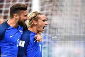 Griezmann antar Prancis ke piala dunia