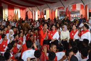 Jokowi Ingatkan Bahaya Narkoba-Pornografi Bagi Anak