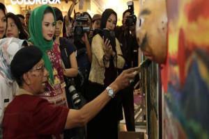 DKL Gelar Pameran Lukisan Perupa-pelajar Lampung