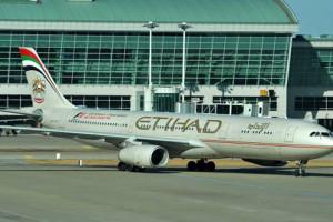 Pesawat Etihad mendarat darurat di Australia
