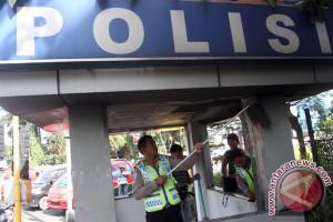 Pos polisi di Garut dirusak