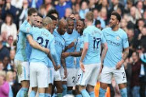 Man City ambil alih klasemen usai bantai Stoke 7-2