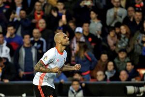 Valencia Naik ke Peringkat Kedua Liga Spanyol