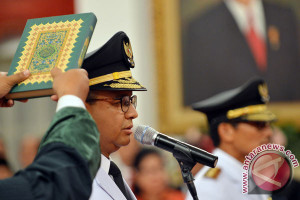 Presiden Lantik Anies-Sandi Pemimpin DKI Jakarta