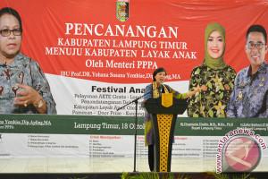 Deputi: Lampung Timur Harus Ramah Anak