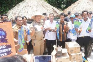 Lampung Tengah Canangkan Dua Kampung KECe