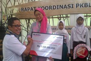 Taman Kupu-Kupu Lampung Dapat Bantuan Pertamina