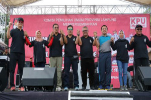 Gubernur Ajak Warga Lampung Memilih Secara Demokratis